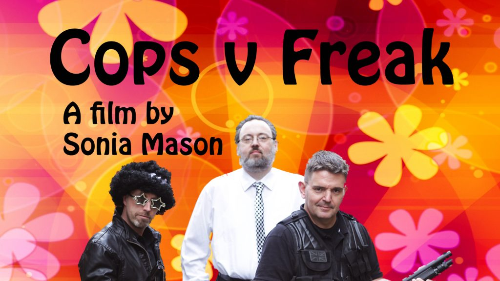 subtitles available for festivvals and screenings of 'Cops v Freak'