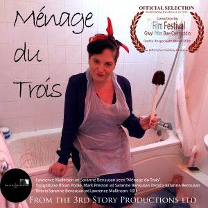 Ménage du Trois selected for Carmathern Bay Film Festival